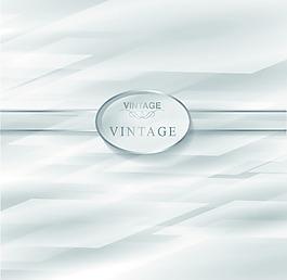 椭圆丝带白色多边形花纹矢量背景文件素材