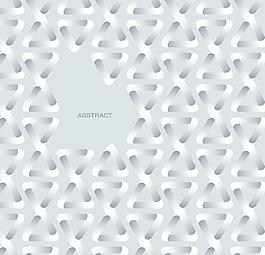 創意白色多邊形花紋矢量背景文件素材
