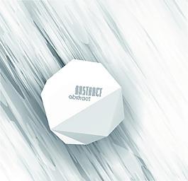 白色多邊形花紋矢量背景文件素材