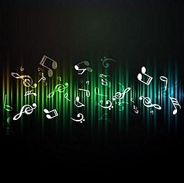 音樂符號背景圖