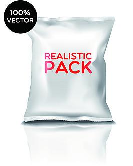 大包膨化食品包装样机vi