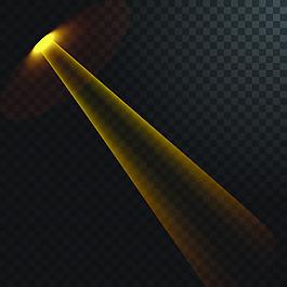 射光透明矢量素材