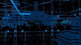 科技数字蓝色线条视频