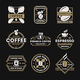 咖啡标签设计图片