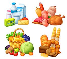 卡通果蔬食物圖片