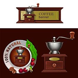 蔓越莓咖啡标签图片