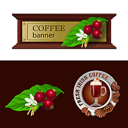 巧克力咖啡标签图片