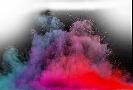 彩色煙霧素材元素
