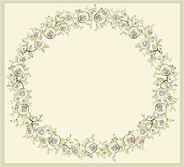 欧式花卉元素
