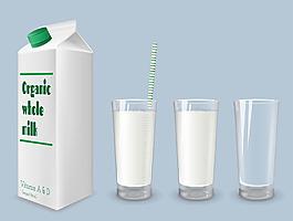 綠色字母牛奶瓶圖片