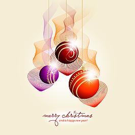 圣诞装饰球素材