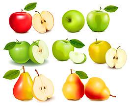 蘋果和梨子圖片