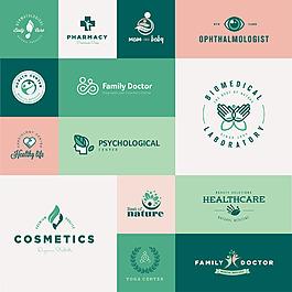 綠色清新圖標設計