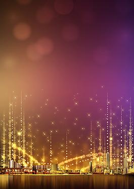 繁華夜上海