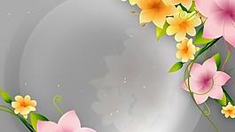 动态花纹生长边框