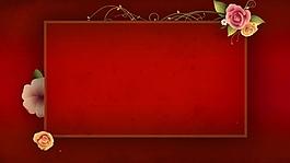 动态花纹边框视频背景