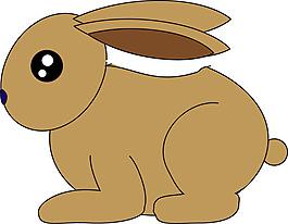 卡通兔子素材设计
