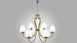 3DMAX吊燈