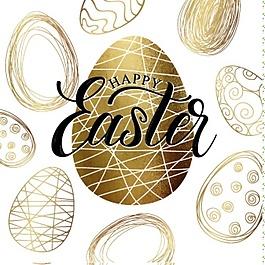 復活節的背景設計