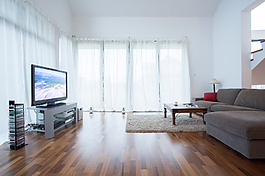 现代简约客厅室内效果图