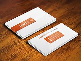 企业名片卡片样机