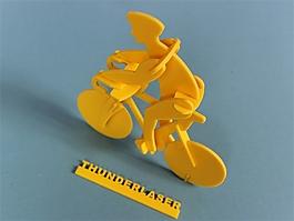 激光切割設計圖——自行車
