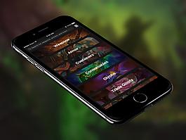 WorldofWarcraft魔兽世界数据库应用Sketch素材