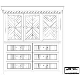 柜子CAD圖紙