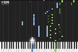 Unravel鋼琴曲黑白鍵動態pr模板