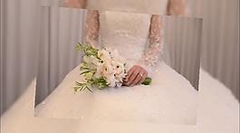 唯美婚紗背景交錯風格相冊模板