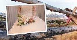 自然風景背景婚紗模版
