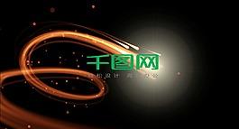 粒子光效logo演繹會聲會影模版