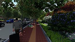 市政园林效果图素材