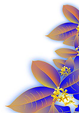 桂花花瓣紫色