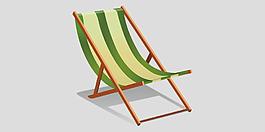 休閑躺椅圖片免摳psd透明素材