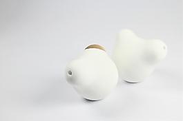 白色玩具产品工业设计