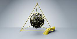 科技晶格化頭圖