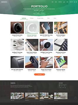 企業安防監控設備之產品推薦界面