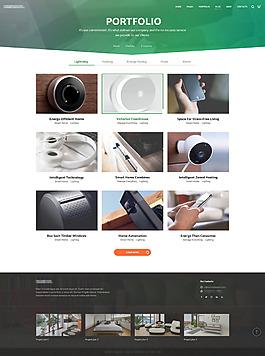 攝像頭安防監控系統商城網站界面