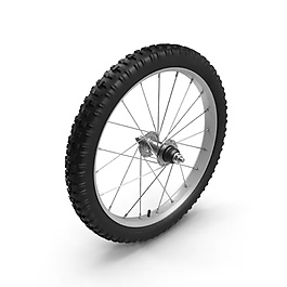 自行车轮胎工业元素设计