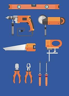 矢量家用工具素材