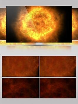 金色太陽能量視頻素材