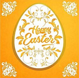 復活節花紋彩蛋ai矢量素材下載