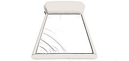 創意白色床鋪效果圖