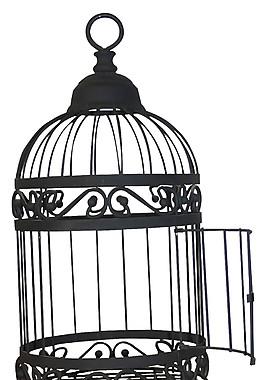 黑色神秘笼子装饰元素