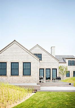 現代小洋樓室外設計效果圖