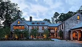 室外獨棟別墅設計效果圖