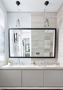 簡約衛生間鏡子裝修效果圖