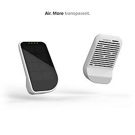 空氣監視器數碼設計產品