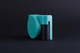 柔軟創意的數碼相機保護套jpg素材